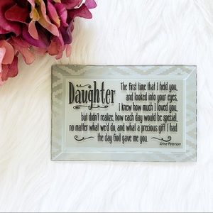 parent to daughter mirror gift